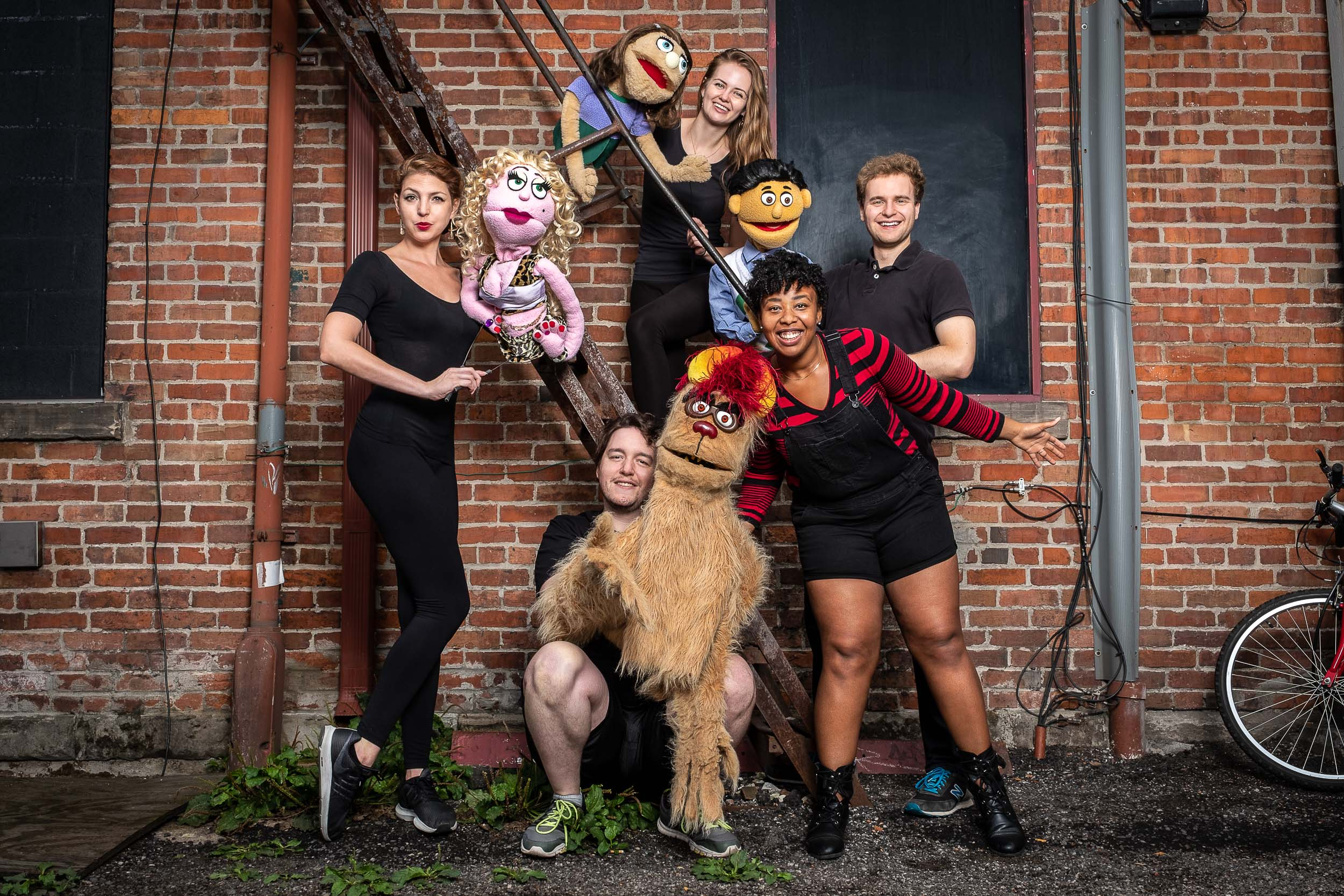 Avenue Q for Theatre and Dance at Wayne