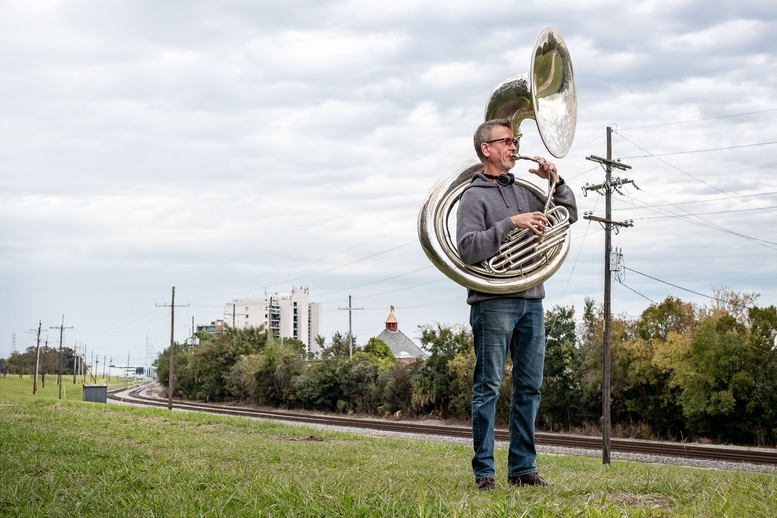 Musician Marc Bolin New Orleans